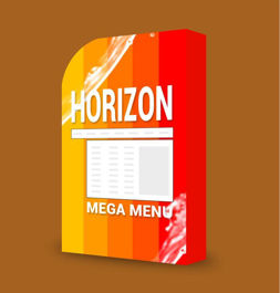 Picture of Horizon Mega Menu